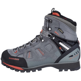 Mammut Ayako High GTX Shoes Women grey-dark barberry
